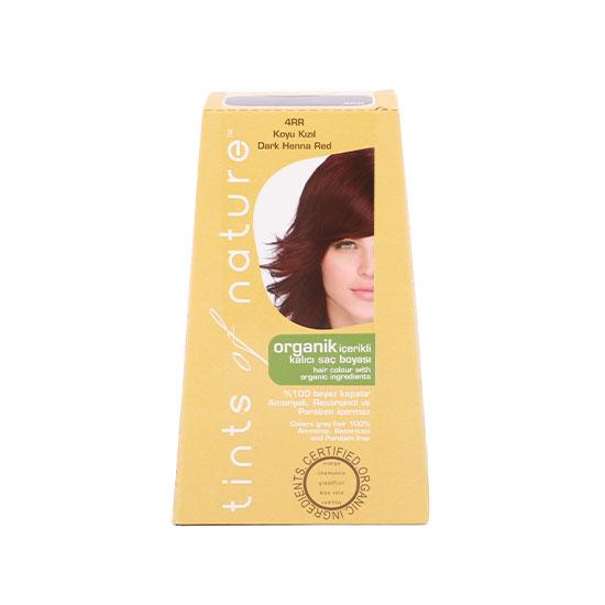 Tints of Nature Organik Saç Boyası -4RR Koyu Kızıl, 120 ml