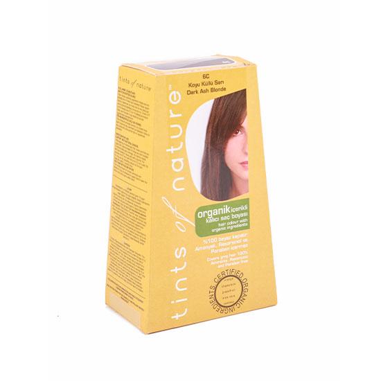 Tints of Nature Organik Saç Boyası -6C Koyu Küllü Sarı, 120 ml